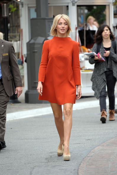 Julianne Hough Day Dress