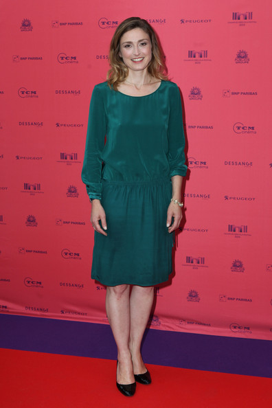 Julie Gayet Cocktail Dress