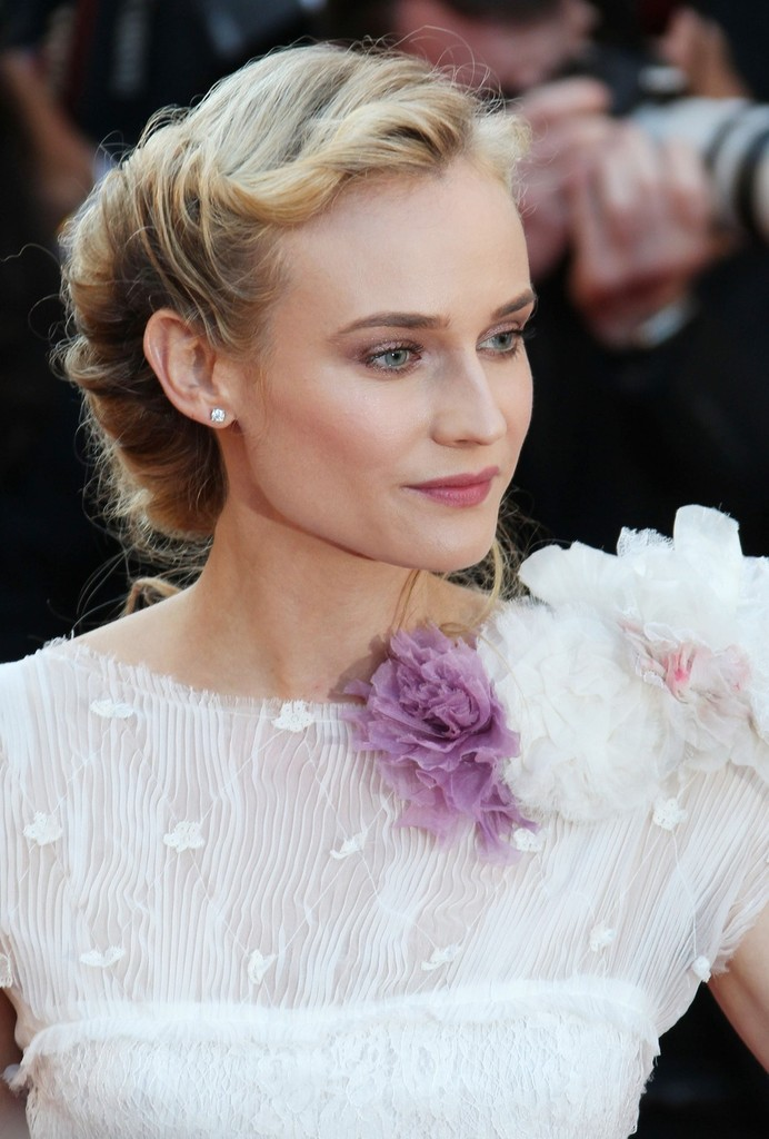 ".Diane Kruger at the ""Killing Them Softly"" red carpet premiere at the 65th Annual Cannes Film Festival, held at the Palais des Festivals on the famous Croisette Avenue."