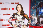 Kat Dennings Print Dress