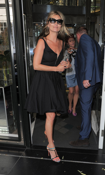 Kate Moss Little Black Dress
