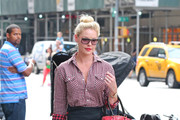 Katherine Heigl Button Down Shirt