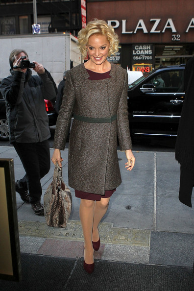 Katherine Heigl Evening Coat