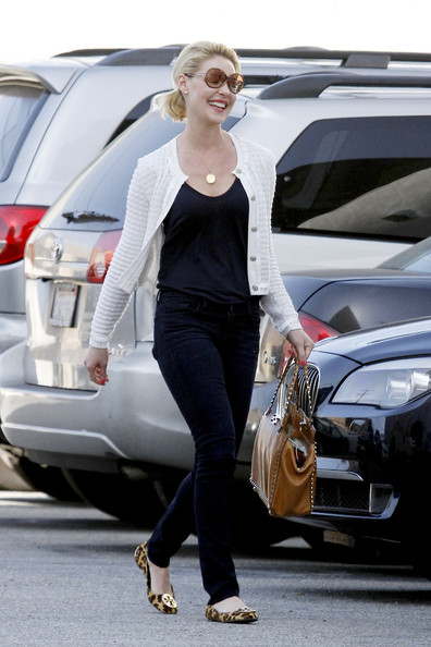 More Pics of Katherine Heigl Ballet Flats (11 of 15) - Ballet Flats Lookbook - StyleBistro