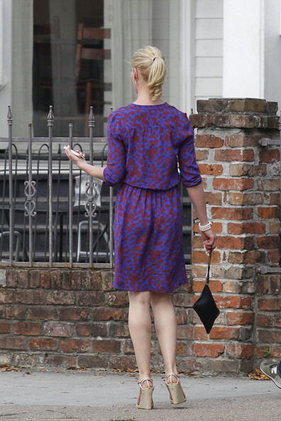 More Pics of Katherine Heigl Print Dress (1 of 51) - Katherine Heigl Lookbook - StyleBistro