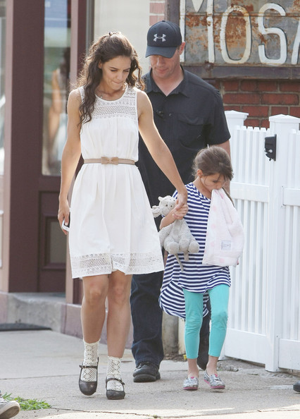 Katie Holmes Day Dress