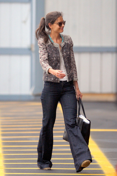 Katie Holmes Cropped Jacket