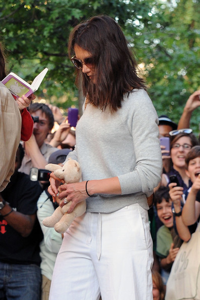 Katie Holmes Boatneck Sweater