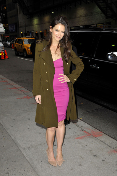 More Pics of Katie Holmes Wool Coat (5 of 14) - Katie Holmes Lookbook - StyleBistro