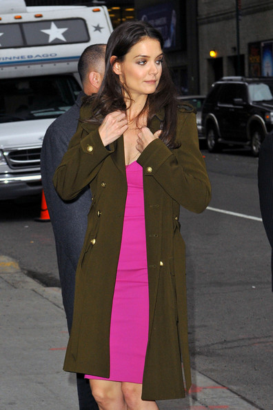 More Pics of Katie Holmes Wool Coat (1 of 14) - Wool Coat Lookbook - StyleBistro