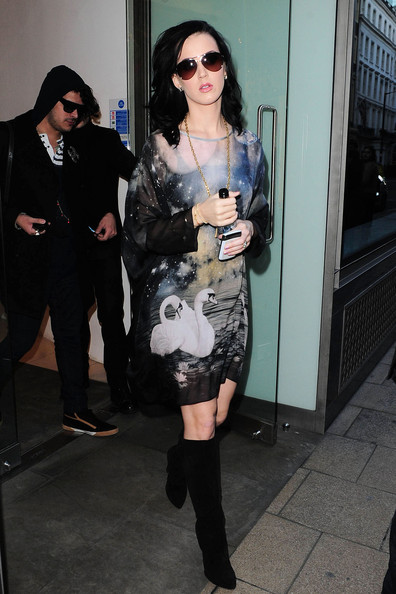 Katy Perry Knee High Boots