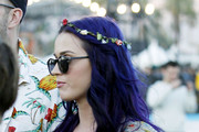 Katy Perry Gets Flowery 3D Manicure