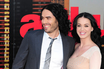 Katy Perry Russell Brand London Premiere of 'Arthur'