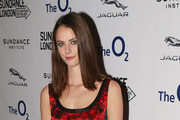 Kaya Scodelario Print Dress