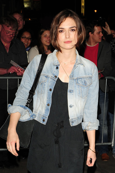 Keira Knightley Denim Jacket