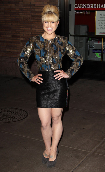 Kelly Osbourne Sequined Jacket