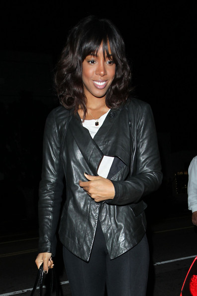 Kelly Rowland Leather Jacket
