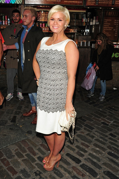 Kerry Katona Peep Toe Pumps