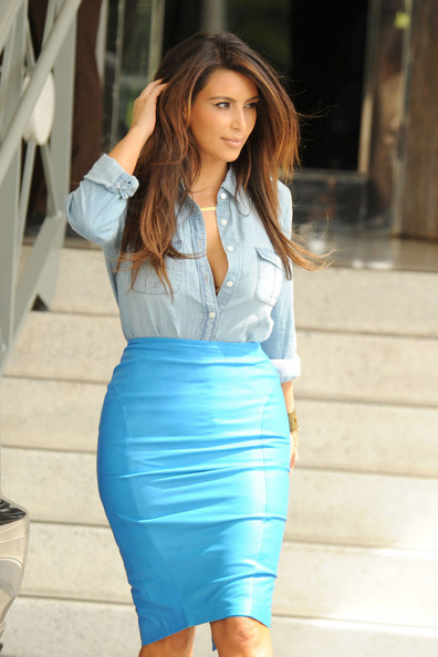 Kim Kardashian shopping in Miami 3
