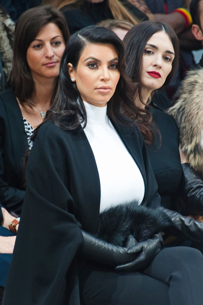 Kim Kardashian in Paris