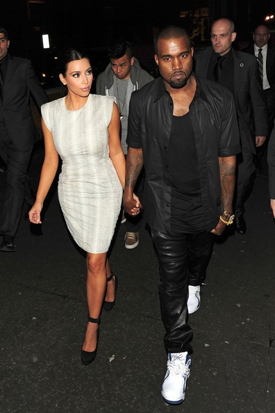 More Pics of Kim Kardashian Cocktail Dress (2 of 3) - Kim Kardashian Lookbook - StyleBistro