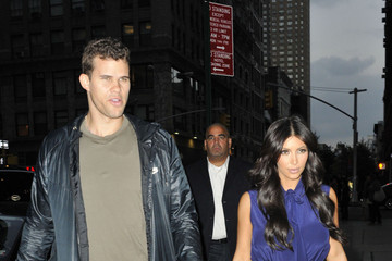 Kim Kardashian Kris Humphries Kim Kardashian and Kris Humphries in NYC