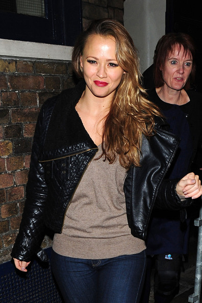 Kimberley Walsh Leather Jacket
