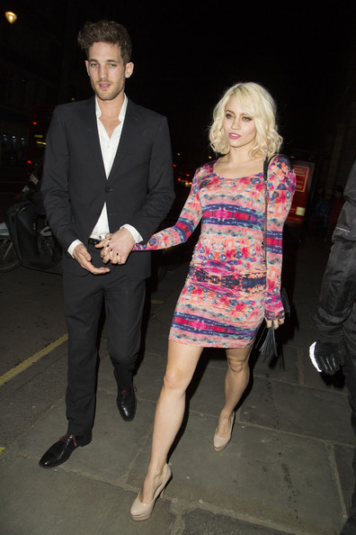 Kimberly Wyatt Print Dress