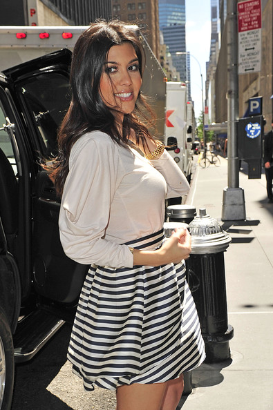 More Pics Of Kourtney Kardashian Mini Skirt 1 Of 11