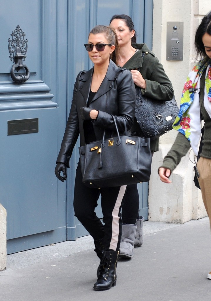 kourtney kardashian leather tote kourtney kardashian