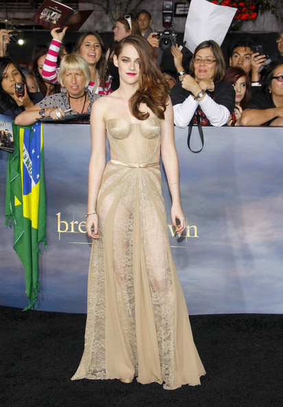 Kristen Stewart Corset Dress