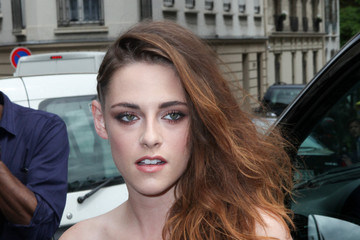 Kristen Stewart Glams It Up In A Bustier And Lace Pants