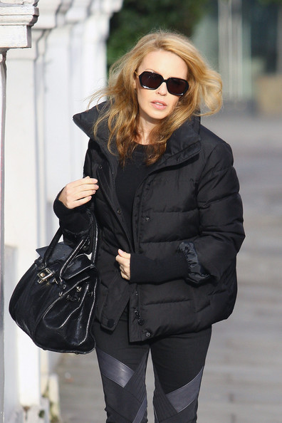 Kylie Minogue Down Jacket