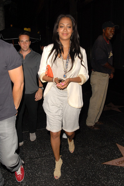 La La Anthony Long Shorts