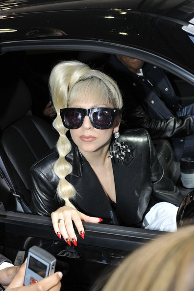 Lady Gaga Diamond Chandelier Earrings