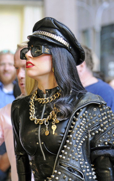Lady Gaga Layered Chainlink Necklaces