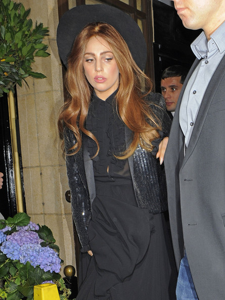 Lady Gaga Sequined Jacket []