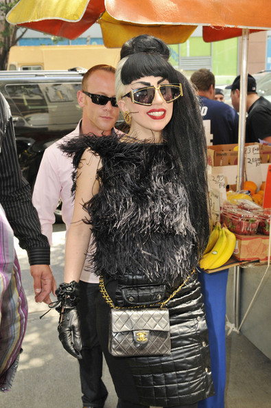 More Pics of Lady Gaga Embellished Top (4 of 11) - Tops Lookbook - StyleBistro []