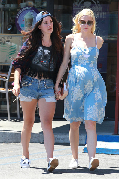 Lana Del Rey and Jaime King Hang Out in LA