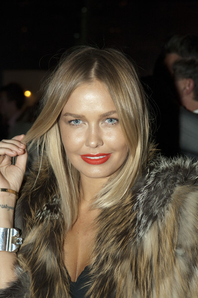 Lara Bingle Red Lipstick