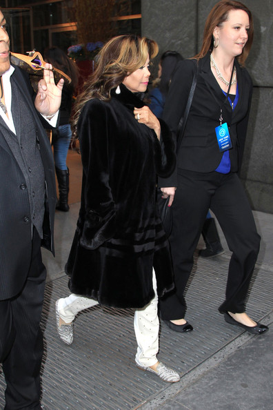 More Pics of La Toya Jackson Evening Coat (1 of 5) - La Toya Jackson Lookbook - StyleBistro