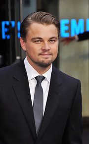 Leonardo always looks dashing on the red carpet. He showed off his short side part while hitting the 'Inception' premiere.