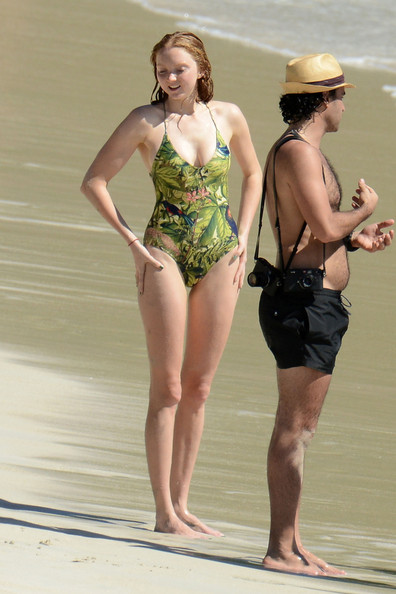 Lily Cole One Piece