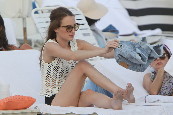 More Pics of Rosie Fortescue Denim Shorts (2 of 8) - Rosie Fortescue Lookbook - StyleBistro