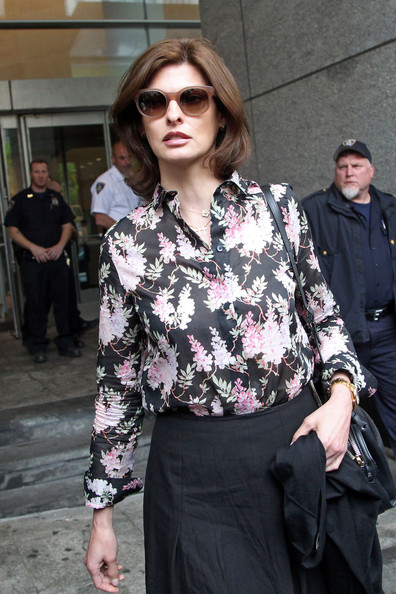Linda Evangelista Button Down Shirt