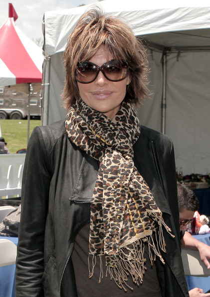 Lisa Rinna Patterned Scarf