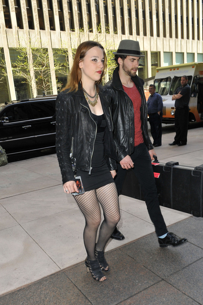 More Pics Of Lzzy Hale Leather Jacket 13 Of 15 Lzzy
