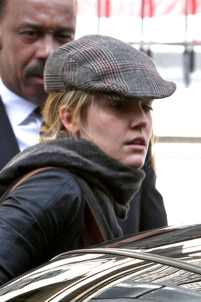 More Pics of Maggie Grace Newsboy Cap (1 of 12) - Casual Hats Lookbook - StyleBistro