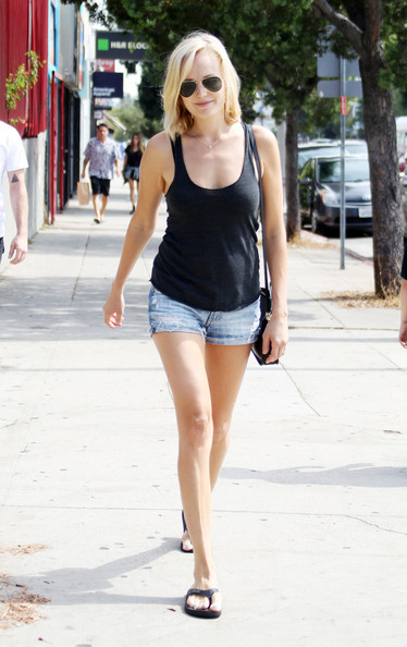 Malin Akerman Dress Shorts