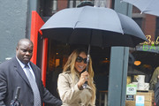 Mariah Carey Trenchcoat